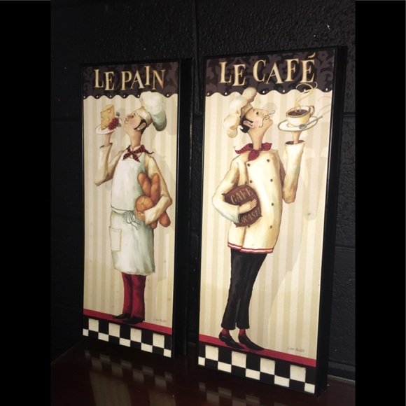 homegoods Other - 2 French bistro style signs-excellent condition
